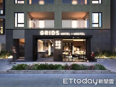 東京新開青旅「GRIDS」住一晚700元