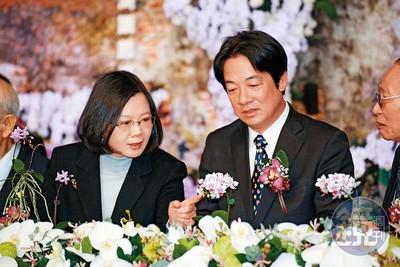 民進黨「蔡賴配」 公布時間曝光