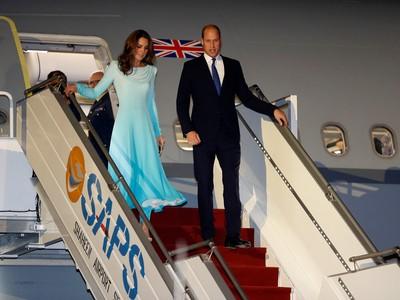 凱特初訪巴基斯坦穿傳統服裝