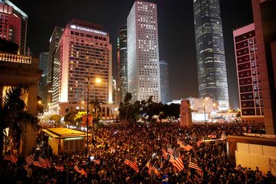 美眾議院通過香港法案 陸港澳辦怒斥