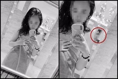 女孩上傳浴衣照「2裸女成背景」走光了…