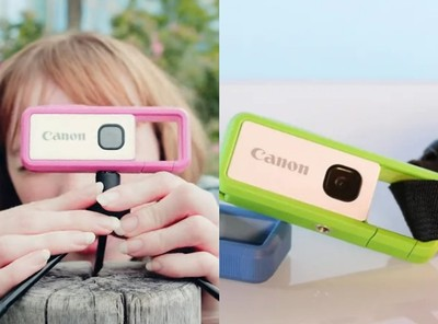 Canon 推出超迷你相機四千有找