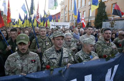 烏克蘭萬人抗議和平計畫 拒向俄投降