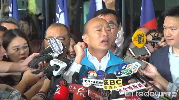 韓國瑜「我現在要出征」拚總統 馬英九競選時也曾用