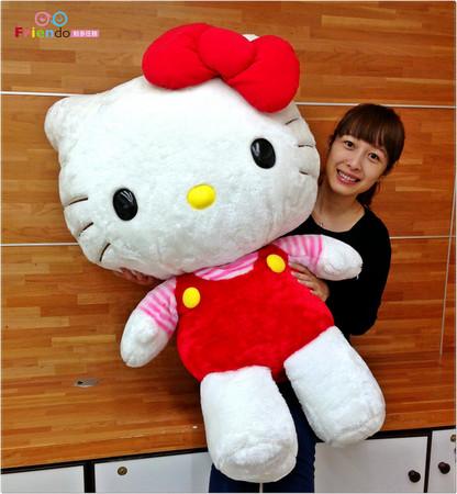 慶祝Hello Kitty 40周年 100公分超大公仔等妳拿!
