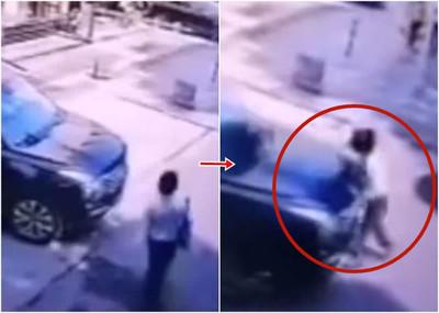 女律師遭轎車加速撞亡!死前打電話老公