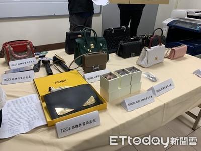 連千毅16件仿品曝光 侵權273萬