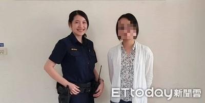 警界李千娜尋回背包 日女讚台警