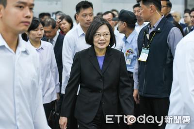 IMF下修台灣經濟成長率 蔡英文:仍穩定成長