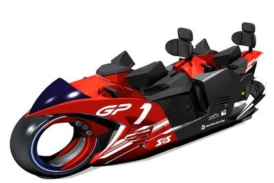 全球首款「摩托車造型」雲霄飛車GP RACERS 日本鈴鹿賽道登場