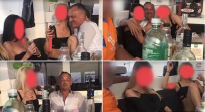 匈牙利市長摟妹狂歡影片流出 照樣連任
