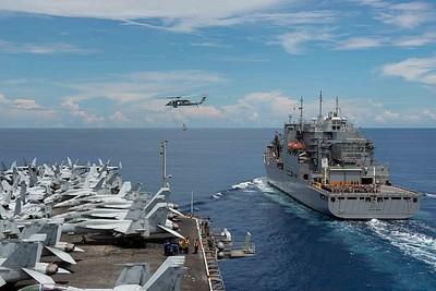 美日菲在南海舉行兩棲軍演