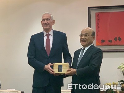蘇貞昌提台美共同成就 AIT主席莫健承諾:未來還會越來越多
