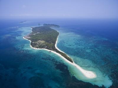極致美麗海景就在沙巴美人魚島!