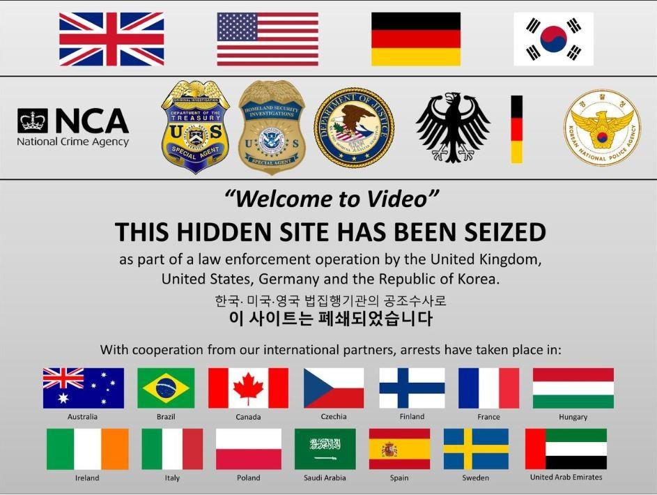 ▲▼美、英、韓等國聯手破獲兒童色情暗網。(圖/翻攝自美國司法部)
