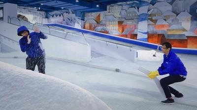 台中海線人、學生玩雪250有找