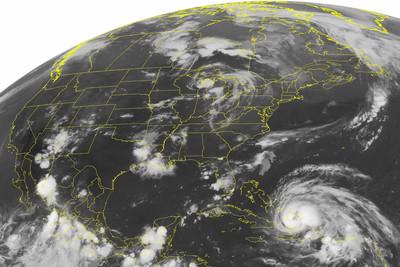 「颶風震海底引巨浪」再勾強震 新型態天災出現