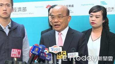韓國瑜轟蔡英文「該一頭撞死」 蘇貞昌:這種程度怪不得有人要退黨