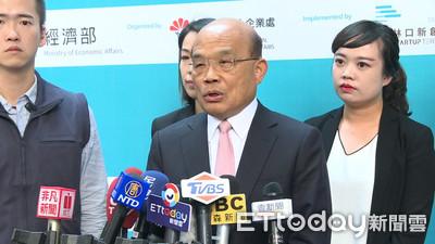 韓國瑜喊檢討一例一休 蘇貞昌反擊:蓋機場、辦賽車都跳票