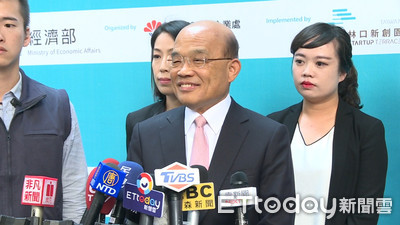 蘇貞昌宣布「兩大利多」:盼林口新創園做出好成績