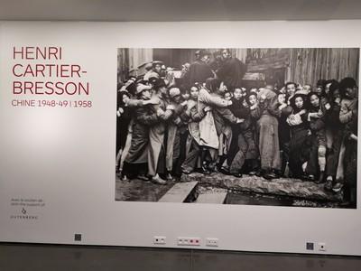 布列松的中國之旅
