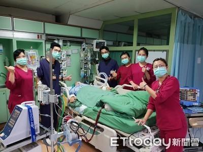 孕婦多功能多器官衰竭 安泰醫護鬼門關搶回