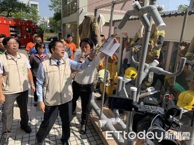台南研發消防衣除污清洗SOP機制