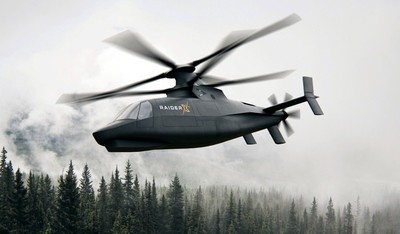 Raider X攻擊偵察直升機新亮相