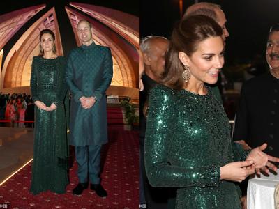 凱特王妃參訪巴基斯坦「綠到底」