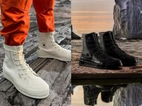 今天開賣!ConverseXAMBUSH超帥氣軍靴黑白齊發 下雨天也能穿