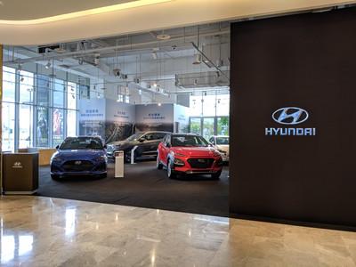 Hyundai Kona鋼鐵人特仕版跨刀站台 全新概念館現身台中文心秀泰