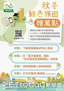 秋冬訪台東環境教育中心 1萬綠點送給你