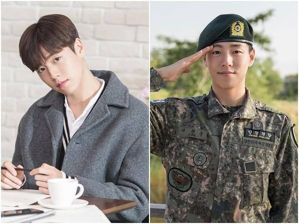 ▲李玹雨在2019年10月19日退伍。(圖/翻攝自YouTube、Instagram/tvN、hihyunwoo)
