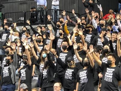 支持NBA 大批港人湧紐約季前賽