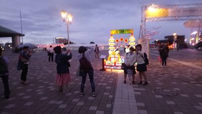 彰監花燈到神戶 NHK見國旗飄揚