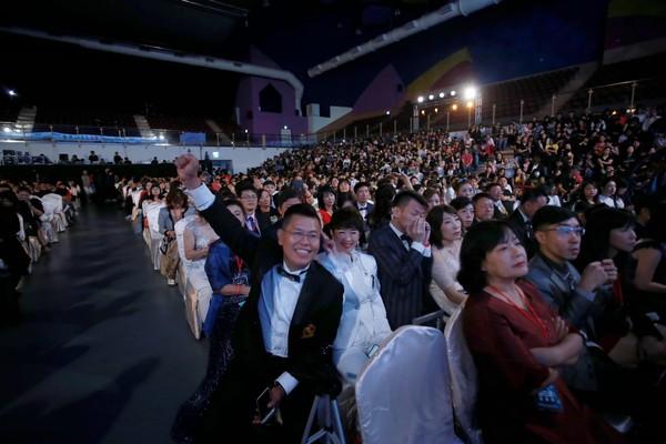 東森天美仕在台中小巨蛋舉辦第二次年會(圖/東森天美仕提供)