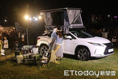 Lexus聯手GQ打造「最極致露營體驗」!南台灣最難訂餐廳也吃得到
