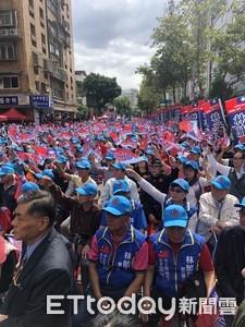 馬英九讚韓國瑜:用生命反對一國兩制