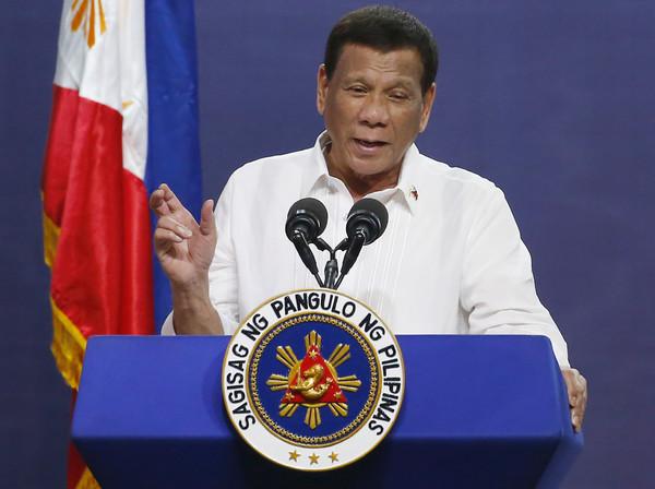 ▲▼菲律賓總統杜特蒂。(圖/達志影像/美聯社)