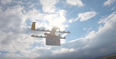 無人機送包裹 Google子公司Wing送出第一趟貨
