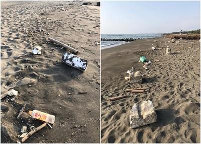 韓國瑜想淨灘前一天垃圾被撿光 真相曝光