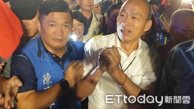 陳水扁:韓國瑜市長位還沒坐暖就「脫褲子圍海」
