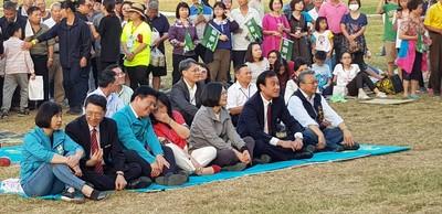 蘇嘉全:國會中部辦公室民主草坪啟用