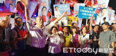 韓國瑜呼籲嘉義市民執政黨做不好明年就下台