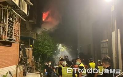鶯歌惡火釀3死!消防員點關鍵「煙囪效應」