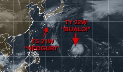 博羅依不排除轉強颱…低溫跌到19度 北東周末雨明顯