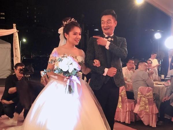 ▲林佑星再婚小17歲老婆小妏。(圖/讀者提供)
