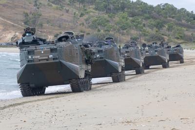 參與海外聯合演訓 日本自衛隊積極強化兩棲戰力?