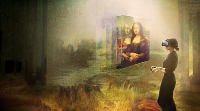 羅浮宮攜手HTC 史上首次展出蒙娜麗莎虛擬實境體驗
