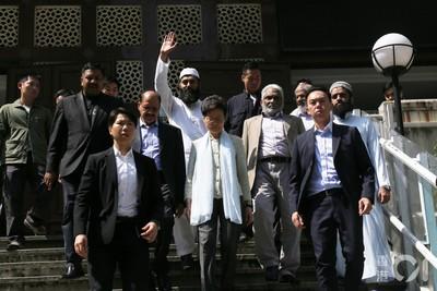 港警水炮射清真寺! 林鄭月娥進清真寺道歉